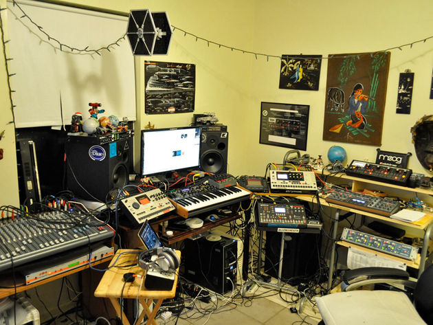 Larry Sherwood's studio