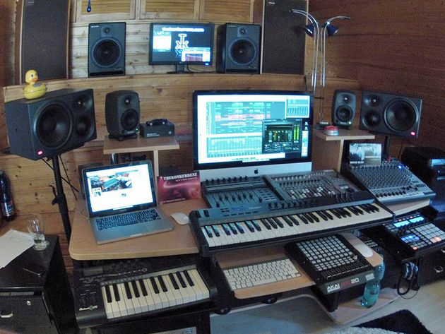 Markus Neub's studio