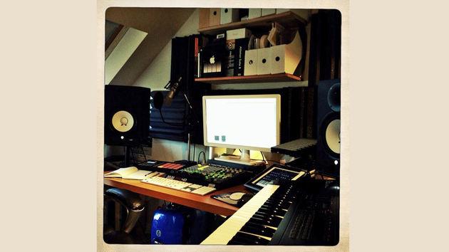 MJ Fitz's studio