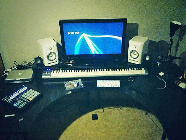 Mack Pairan's studio