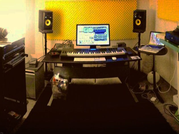 Marco Battagliero's studio