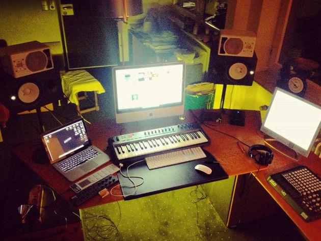 Matthias Fuch's studio
