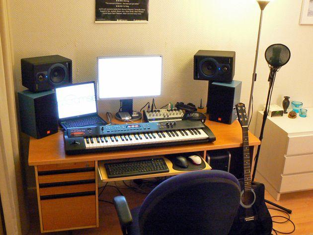 Matti Frondelius's studio