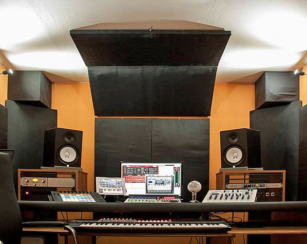 Mauro Meddi's studio