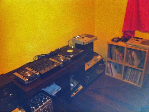 Musical History's studio