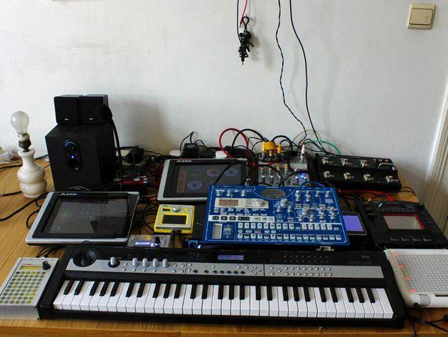 MyOneManBand's studio