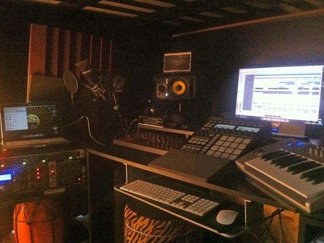 Nelson Moreira's studio