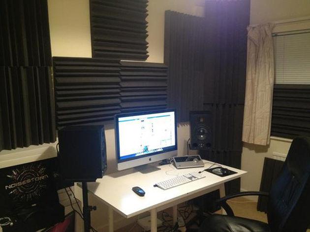 Noisestorm's studio