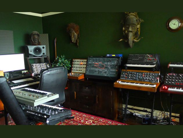 Paul Lawler's studio
