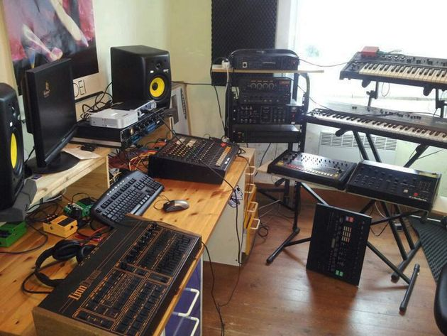 Richie Summer's studio
