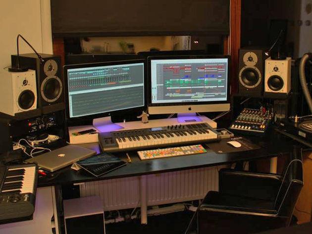 Robert Snajder's studio