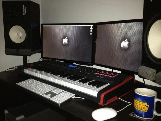 Sam Wale's studio