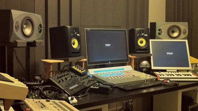 Seven O Seven's studio