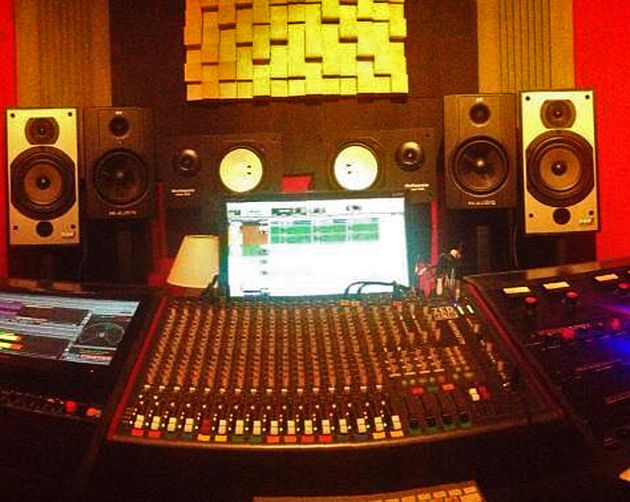 Shea Stedford's studio