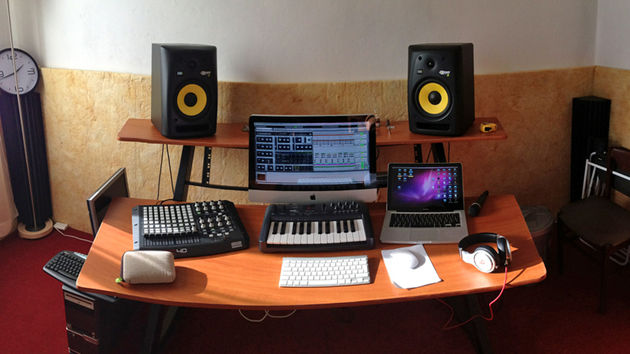 Simone Gaio Manni's studio
