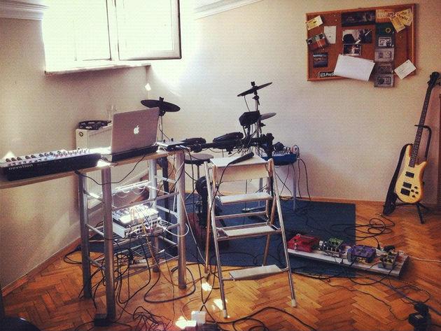 Siyah Sound's studio