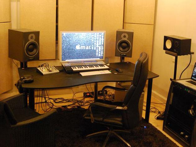 Stefan Rosenlund Hansen's studio