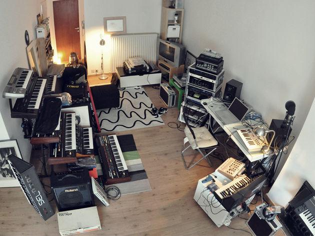 Maks Konings' studio