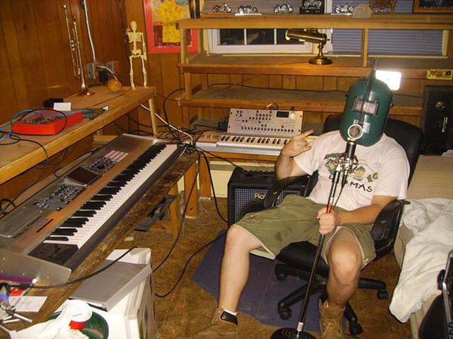 Techno Tim's studio
