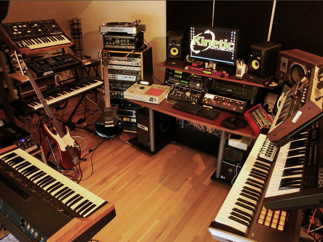 Terrany Johnson's studio