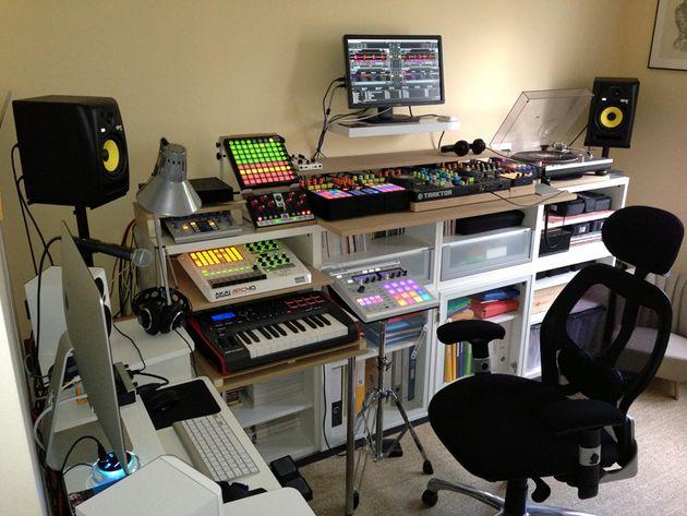 Vincent Mariacci's studio
