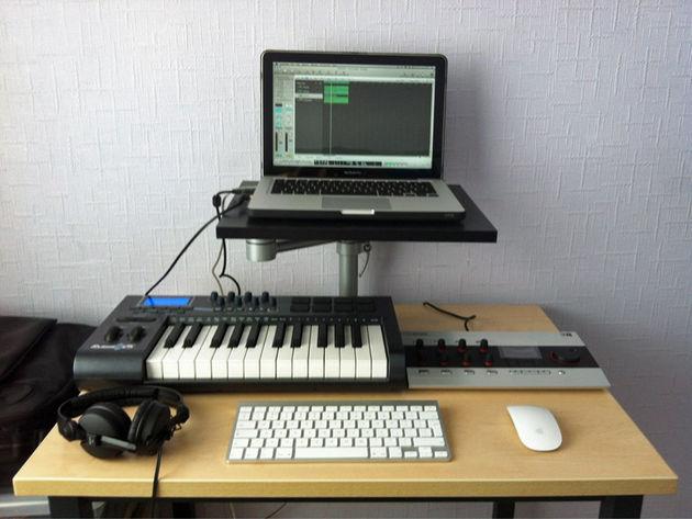 DJ Flex's studio
