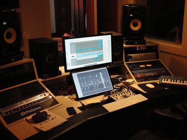 Alexander Gill's studio