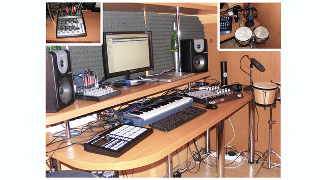 Studio Bourne's studio