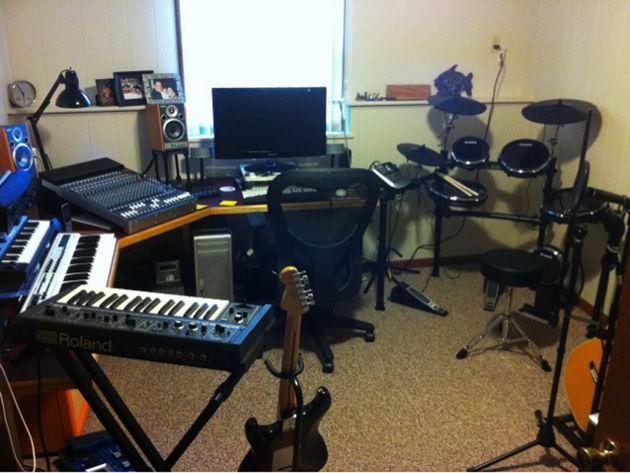 Textöen's studio