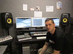 Me in my studio: Sean Tyas