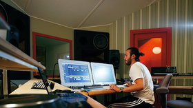 Steve angello studio shot