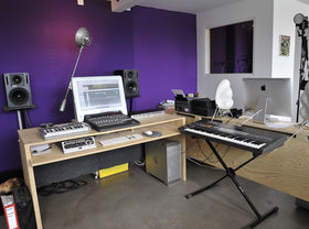 In pictures: Chocolate Puma's home studio