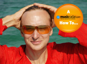How to get the sequence sound in David Guetta's track Without You