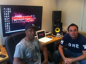 Me in my studio: Drumsound & Bassline Smith