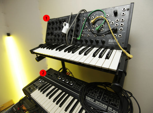 The first synth