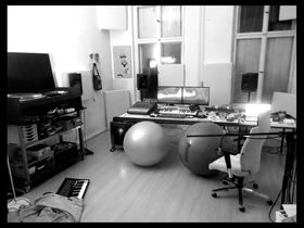Me in my studio: Sacha Robotti