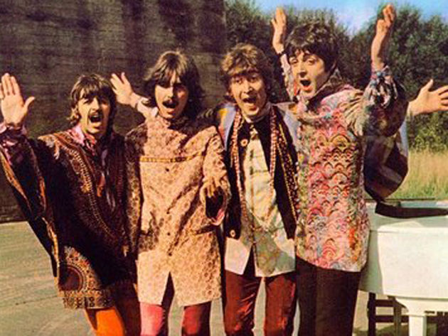 "The Beatles ""roll up"" in new footage"