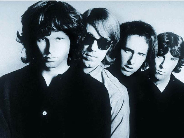 Manzarek, first from left