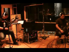 In the studio with Trivium