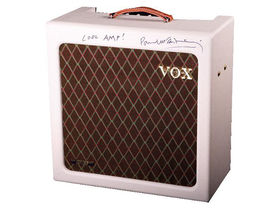 Bid for a Vox amp signed by Paul McCartney
