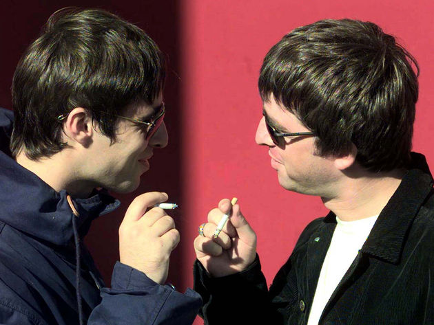 Noel and Liam Gallagher: Oasis