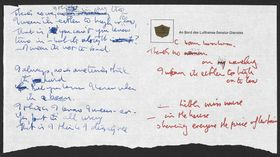 Handwritten Beatles lyrics donated to the British Library