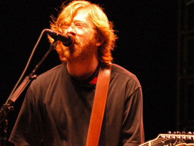 Trey Anastasio wants to lose his left nut