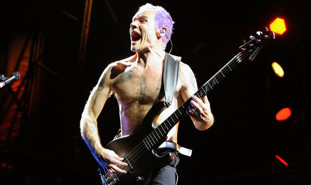 Flea live in concert at Sydney Olympic Park