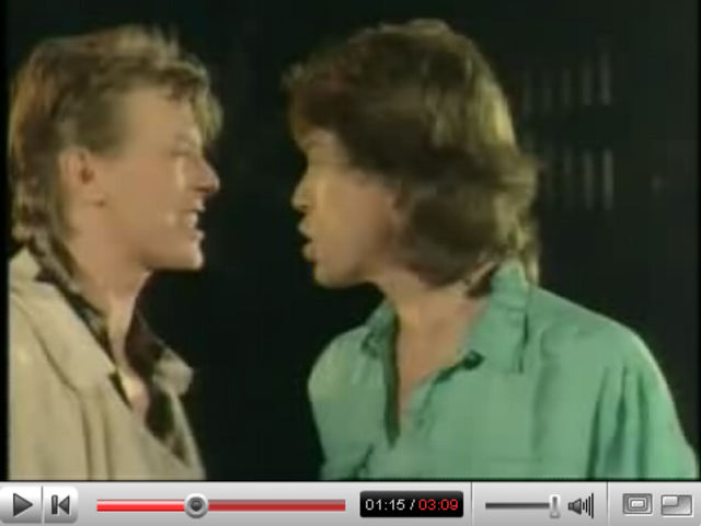 Jagger and Bowie: a match made on Hell FM