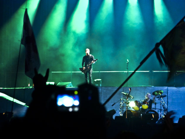 Metallica stormed the UK leg of Sonisphere 2009