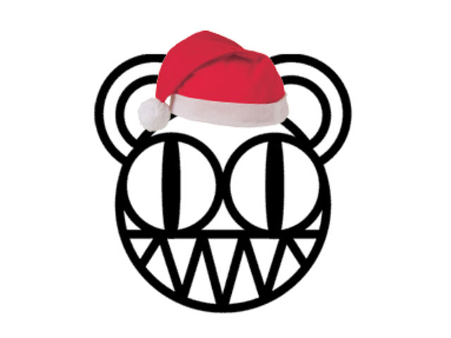 The Radiohead head getting into the festive spirit