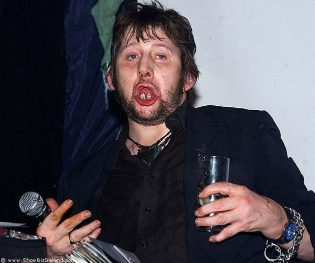 Shane MacGowan: something in common with Jesus