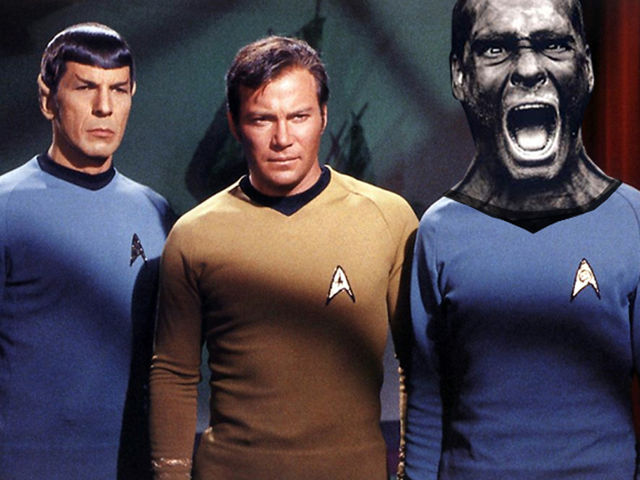 "Shatner + Rollins: ""illogical"" says Mr Spock"