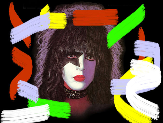 Kiss's Paul Stanley is an artist